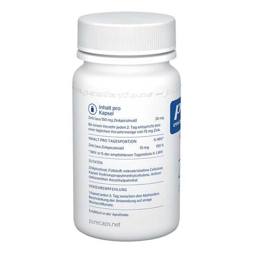 Pure Encapsulations Zink Zinkpicolinat Kapseln - 3