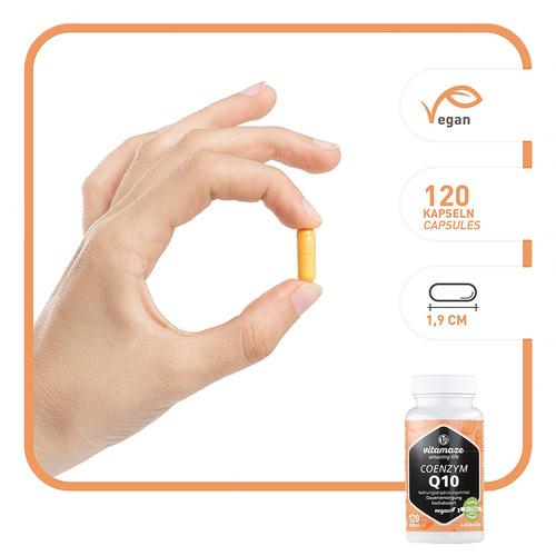 Coenzym Q10 200 mg vegan Kapseln - 2
