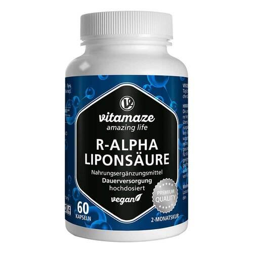 R-Alpha-Liponsäure 200 mg hochdosiert vegan Kapseln - 1