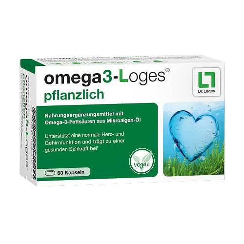 OMEGA3-Loges pflanzlich Kapseln - 1