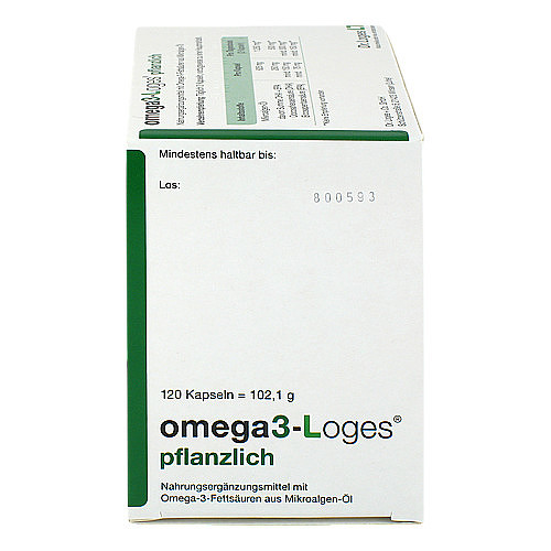 OMEGA3-Loges pflanzlich Kapseln - 2