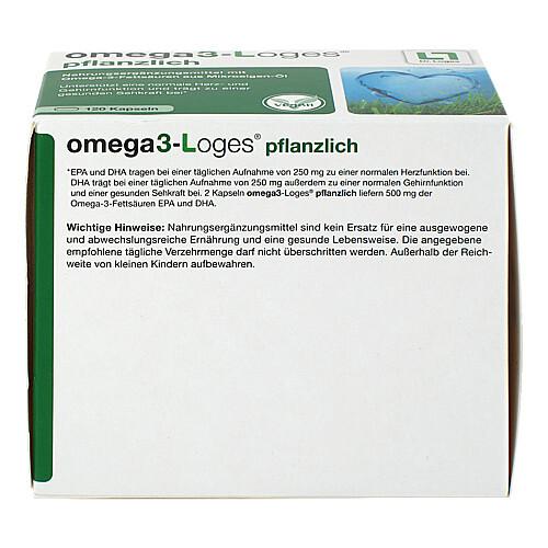 OMEGA3-Loges pflanzlich Kapseln - 4