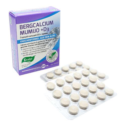 Bergcalcium Mumijo + D3 Tabletten - 2