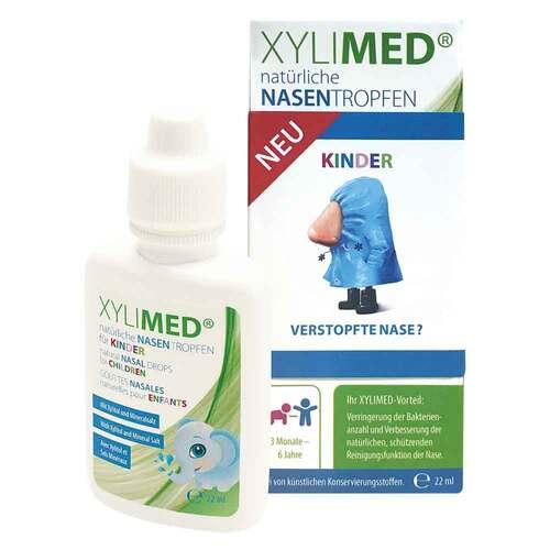 Miradent Xylimed Kid`s natürliche Nasentropfen - 1