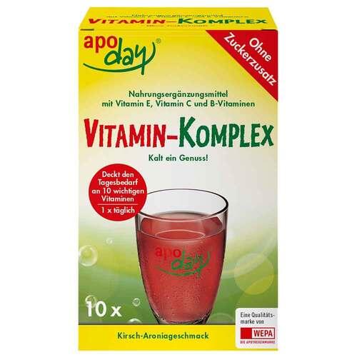 Apoday Vitamin-Komplex Kirsch-Aronia zuckerfrei Pulver  - 1