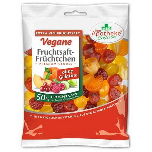 Fruchtsaft-Früchtchen vegan 50% Fruchtsaft - 1