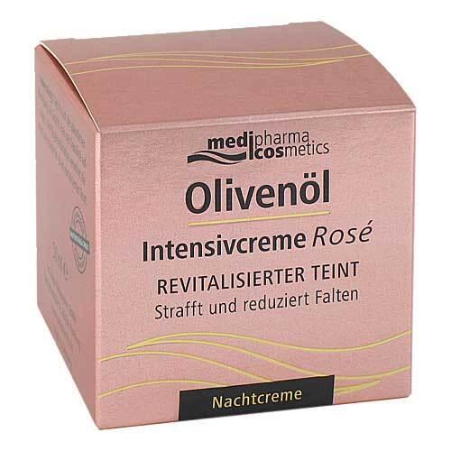Olivenöl Intensivcreme Rose Nachtcreme - 1