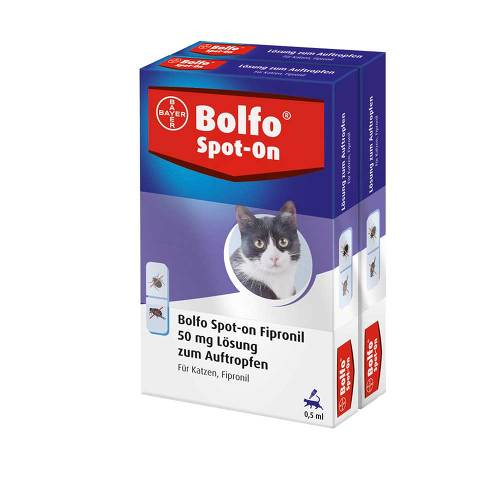 Bolfo Spot-On Fipronil 50 mg Lösung für Katzen - 1