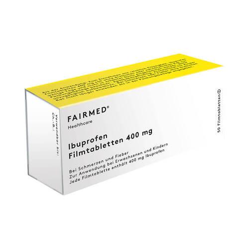 Ibuprofen Schmerztabletten akut 400 mg Filmtabletten  - 1