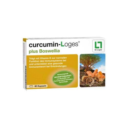 Curcumin-Loges plus Boswellia Kapseln - 1