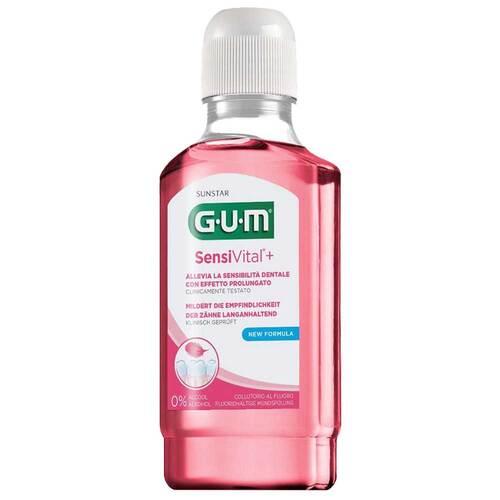 GUM Sensivital + Mundspülung - 1