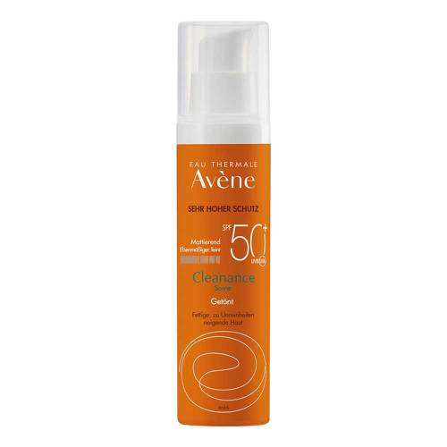 Avene Sunsitive Cleanance Sonne Emu.SPF 50 + getönt - 1