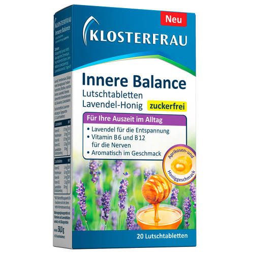Klosterfrau Innere Balance Lutschtabletten Lavendel-Honig - 1