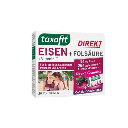 Taxofit Eisen + Folsäure Direkt-Granulat - 1