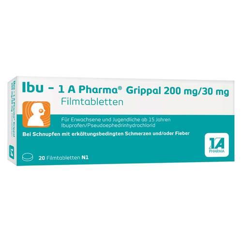Ibu-1A Pharma Grippal 200 mg / 30 mg Filmtabletten - 1