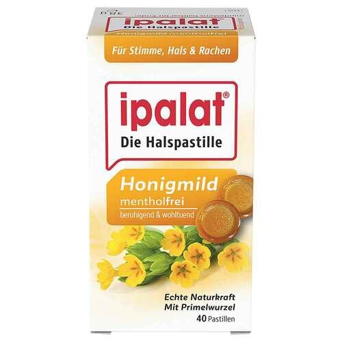 Ipalat Halspastillen honigmild ohne Menthol zuckerfrei  - 1