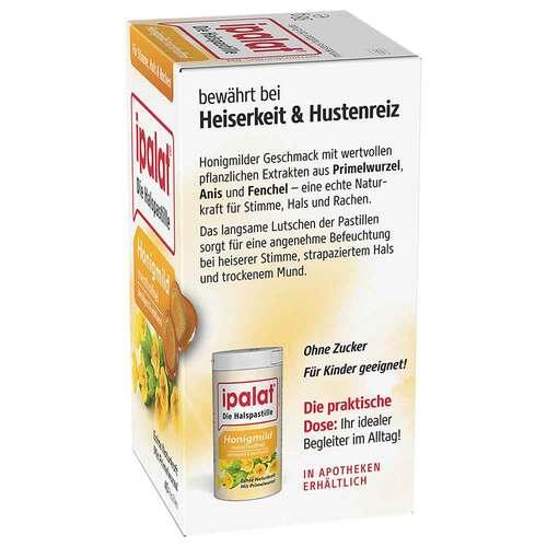 Ipalat Halspastillen honigmild ohne Menthol zuckerfrei  - 2