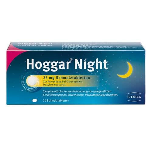 Hoggar Night 25 mg Schmelztabletten - 1