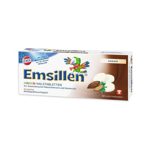 Emsillen Kinder-Halstabletten Kakao - 1
