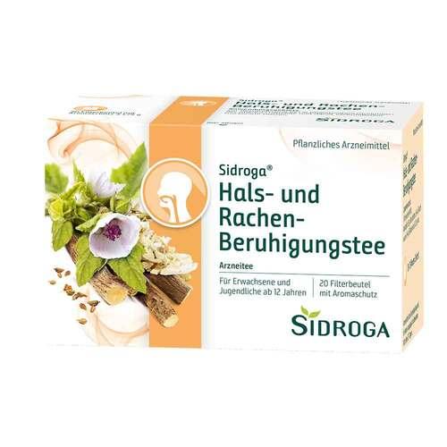 Sidroga Hals- und Rachen-Beruhigungstee Filterbeutel  - 1