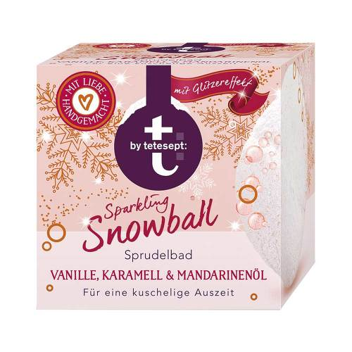 T BY tetesept Sprudelbad sparkling snowball - 1