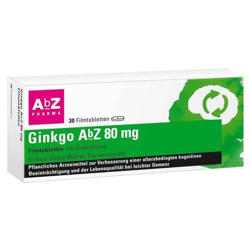 Ginkgo AbZ 80 mg Filmtabletten - 1
