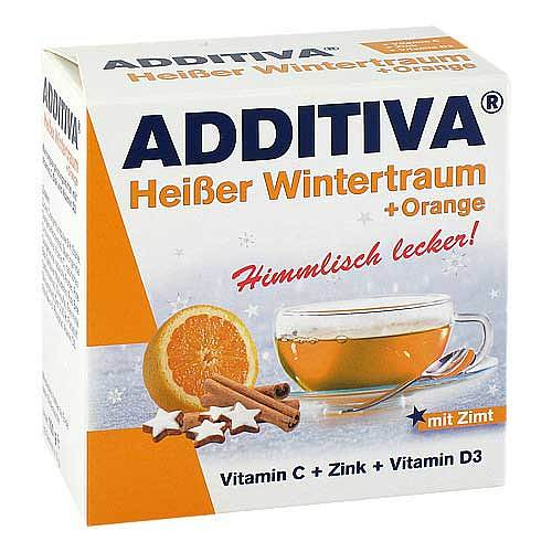 Additiva heißer Wintertraum orange Pulver - 1