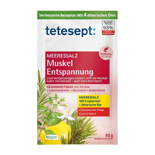 Tetesept Meeressalz Muskel Entspannung - 1