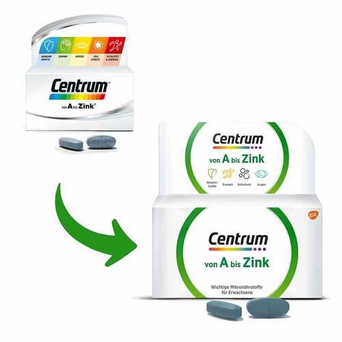 Centrum A-Zink Tabletten - 2