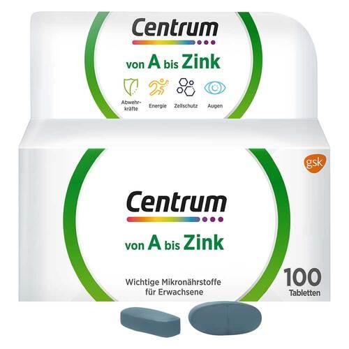 Centrum A-Zink Tabletten - 1