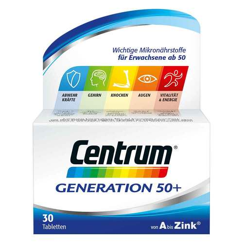 Centrum Generation 50 + Tabletten - 1