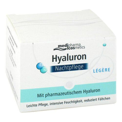Hyaluron Nachtpflege legere Creme im Tiegel - 1
