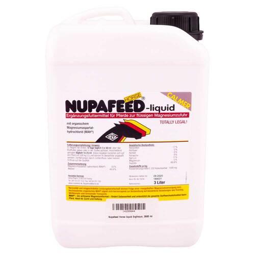Nupafeed Horse liquid Ergänzungsfutterm.für Pferde - 2