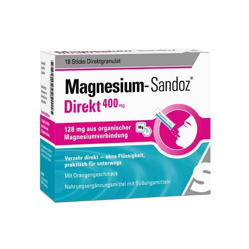 Magnesium Sandoz Direkt 400 mg Sticks - 1