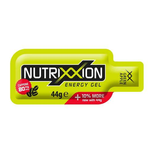 Nutrixxion Energy Gel green Apple mit Koffein 80 mg - 1