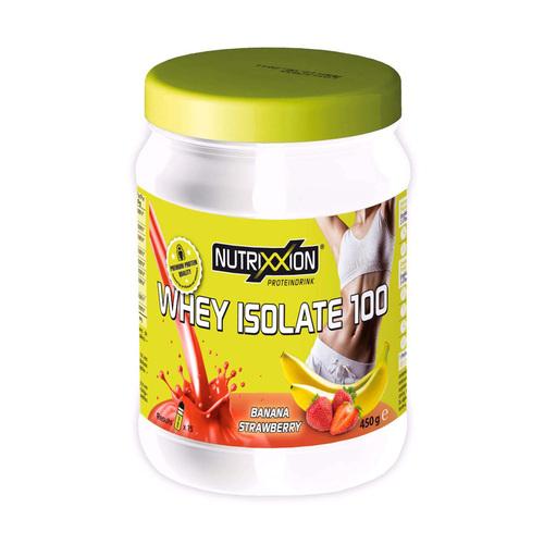 Nutrixxion Prot.Shake Low Sugar Whey Iso Ban.Straw - 1