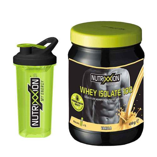 Nutrixxion Prot.Shake Low Sugar Whey Iso Vanilla - 1