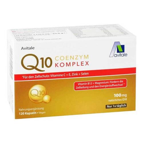 Coenzym Q10 100 mg Kapseln + Vitamine + Mineralstoffe - 1