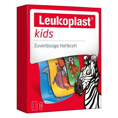 Leukoplast kids Strips 19x56 mm 8 St / 38x63 mm 4 St - 1