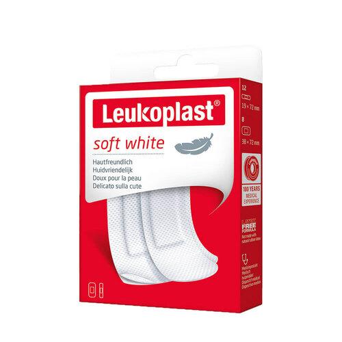Leukoplast soft Strips 19x72 mm 12St / 38x72 mm 8St - 1