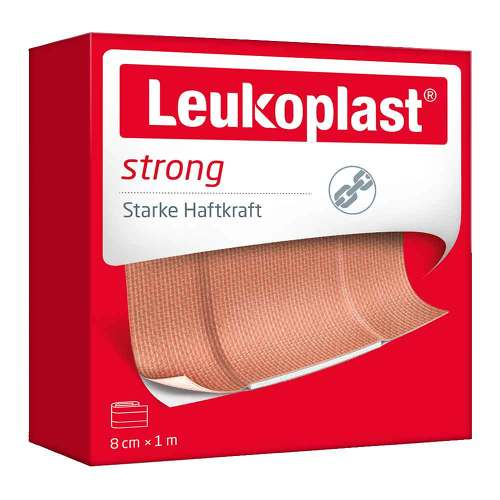 Leukoplast strong Pflaster 8 cmx1 m - 1