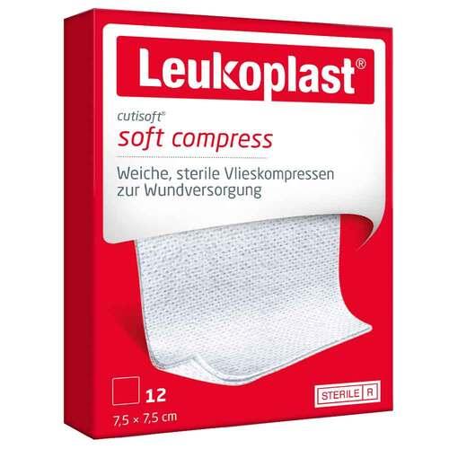 Leukoplast Cutisoft Vlieskompresse 7,5x7,5 cm steril - 1