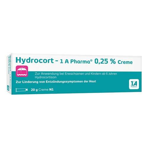 Hydrocort-1A Pharma 0,25% Creme - 1