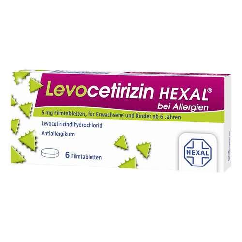 Levocetirizin Hexal bei Allergien 5 mg Filmtabletten  - 1