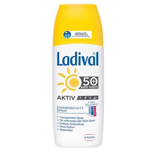 Ladival Aktiv Sonnenschutz Spray LSF 50 +  - 1