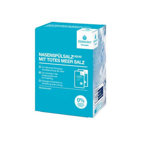 Dermasel Therapie Totes Meer Nasenspülsalz liquid - 1