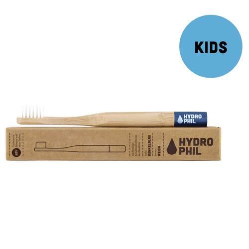 Nachhaltige Kinderzahnbürste Bambus ext.weich blau - 1