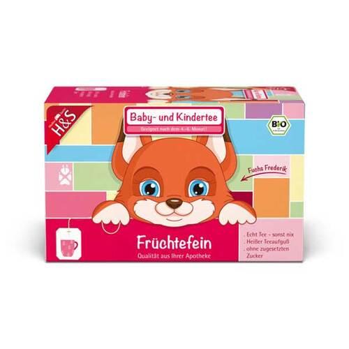 H&S Bio Baby- und Kindertee Früchtefein Filterbeutel - 1