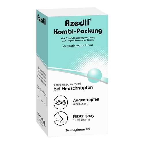 Azedil Kombi-Packung 0,5mg / ml AT 1mg / ml Nasenspray  - 2