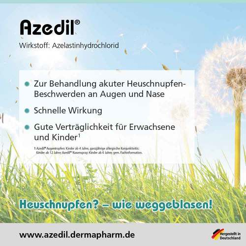 Azedil 1 mg / ml Nasenspray Lösung - 3